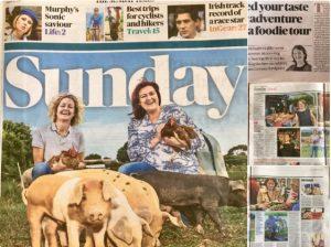 Regan Organic in Sunday Times